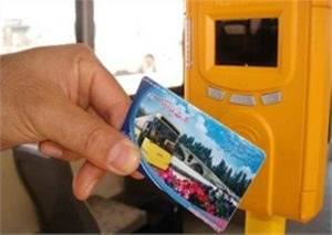 چاپ کارت اتوبوس و چاپ کارت الکترونیکی